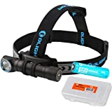 OLIGHT H2R LED Rechargeable Headlamp - Available in 2300 Lumens Cool White 2000 Lumens Neutral White LED Plus Lumen Tactical Battery Organizer
