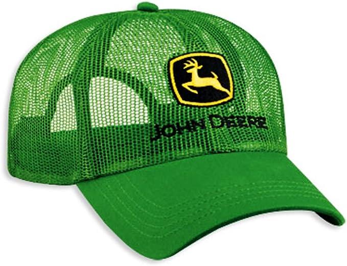 John Deere Gorra de malla completa, color verde: Amazon.es: Ropa y ...
