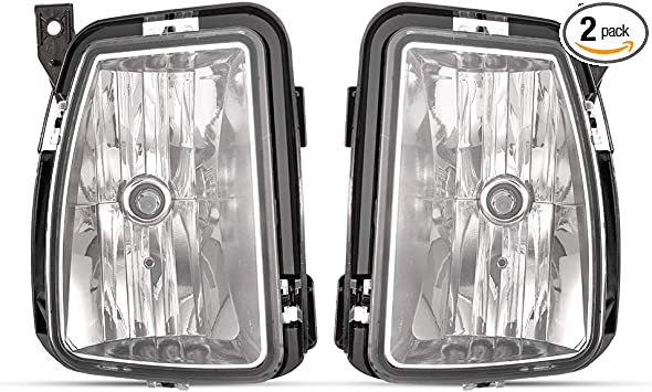 For Dodge Ram 1500 Pickup 2013-2017 Fog Light Lamp Assy w//Bulb LH