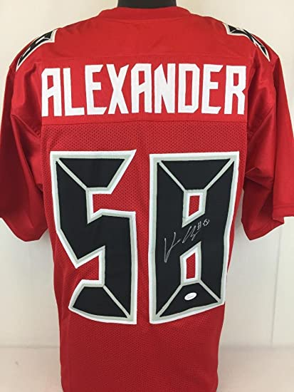 Kwon Alexander Signed Autographed R jersey Buccaneers football JSA ...