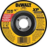 DEWALT DW8804 4-1/2-Inch by 3/32-Inch XP Metal Cutting and Notching Wheel, 7/8-Inch Arbor