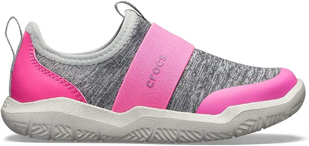 Crocs Kids Swiftwater Easy-On Heathered Shoe