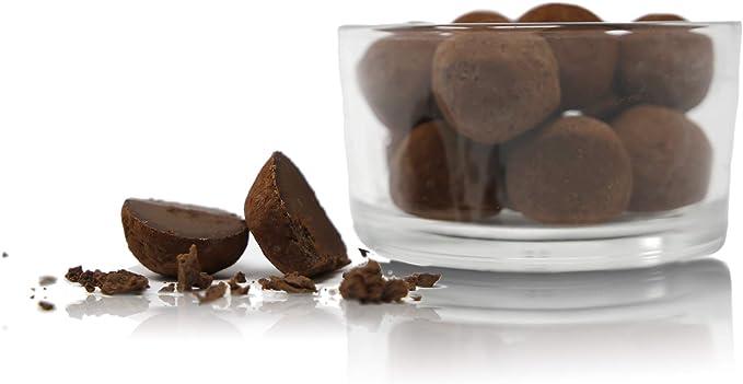 Ta Milano Trufas de Chocolate Negro y Ron Cubiertas de Cacao en Polvo - 130 gr