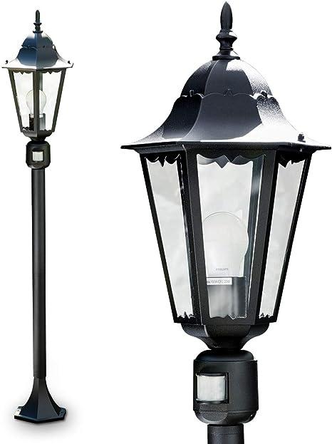 Aussenlampe LED Außenleuchte Stehlampe Standleuchte Außenstehleuchte Gartenlampe