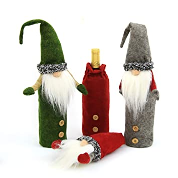 Iris Fairy Muñeca de Navidad Linda Sentado Patas largas Papá Noel Felpa Muñeca Escritorio Adornos Niños