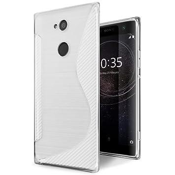 SLEO Funda para Sony Xperia XA2 Ultra Slim Fit TPU Carcasa ...