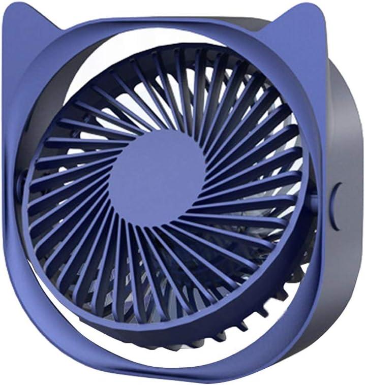 f/ür B/üro wei/ß USB Fan Einfach zu Tragen Zuhause und im Freien USB L/üfter Ger/äuscharm Debuy USB Mini Ultra Leise Ventilator 3 Geschwindigkeiten