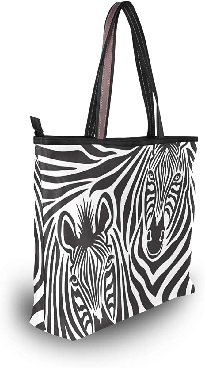 Extreme Access Zebra Tote Bag