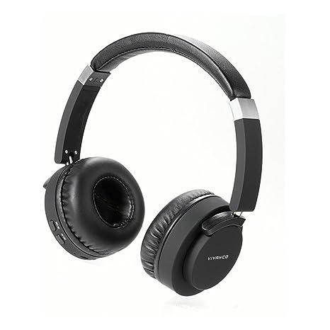 Vivanco BTHP 260 Auriculares Portátiles Bluetooth y Jack 3,5mm, Tipo Diadema, Manos