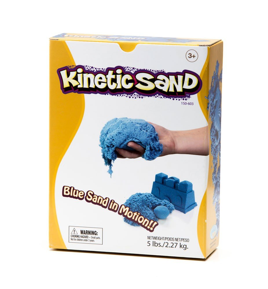 Waba Fun Kinetic Sand 5lb Box Blue/Green by Waba Fun