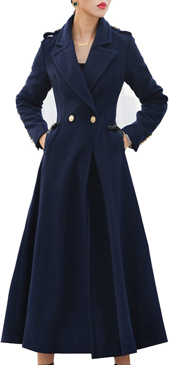 Amazon Com S S Women Elegant Slim Fit Notched Lapel Full Length Dress Trench Coat Clothing The absolute largest selection of fashion clothing, wedding apparel and costumes with quality guaranteed online! amazon com s s women elegant slim fit