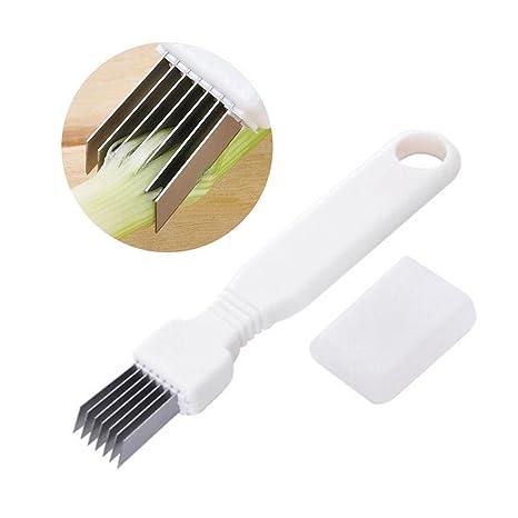 Gadgets de cocina cortador de cebolla cebolla de primavera, por 8bees regalo, cortador de