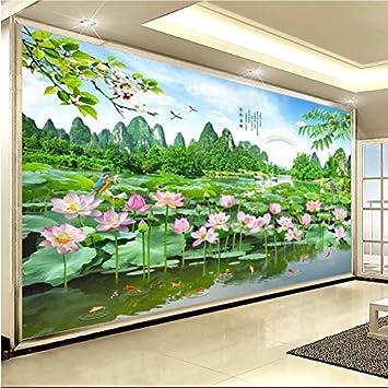 Huang Ya Hui Peintures Murales Murale Représentant La Peinture De