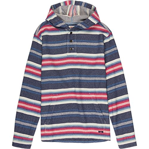 Faherty Pacific Hooded Poncho - Men's Bandera Serape, S