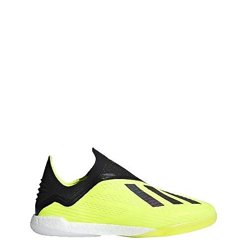 1e87ab722fb adidas X Tango 18+ Indoor Shoe Men s Soccer 7 Solar Yellow-Black-White