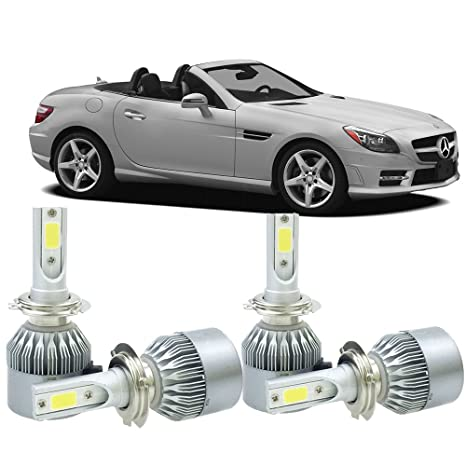 H7 LED de los faros Kit Bombillas para Mercedes Benz SLK 2012 – 2007 Hi/