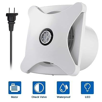 Merveilleux Honu0026Guan 6u0027u0027 Home Ventilation Fan Bathroom Garage Exhaust Fan Ceiling And  Wall Mount Fan