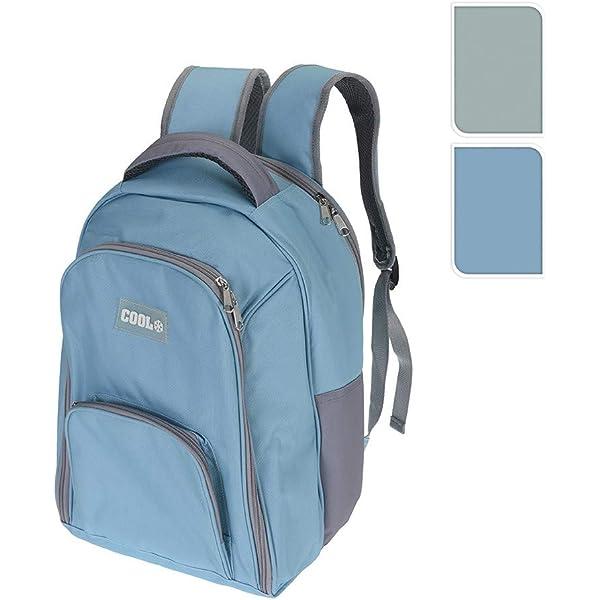 Nevera tipo mochila con 3 compartimentos 12l 40x30x10cm colores ...