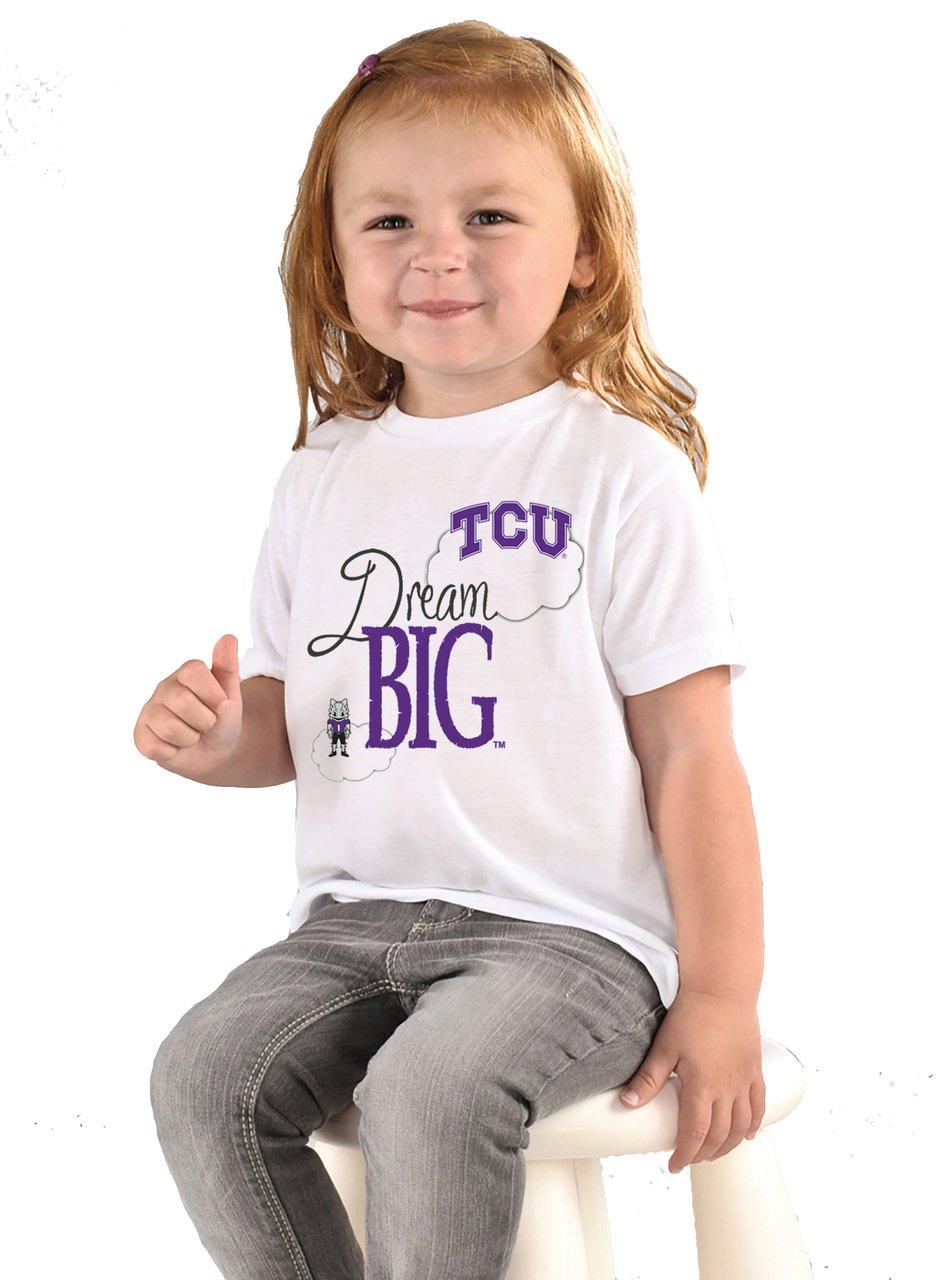 ★お求めやすく価格改定★ Texas Christian TCU Horned Frogs Dream Texas Frogs Bigベビー/幼児用Tシャツ Horned 2T B073RZ2Z4G, アパレル什器専門店クロムスタイル:b13883da --- a0267596.xsph.ru