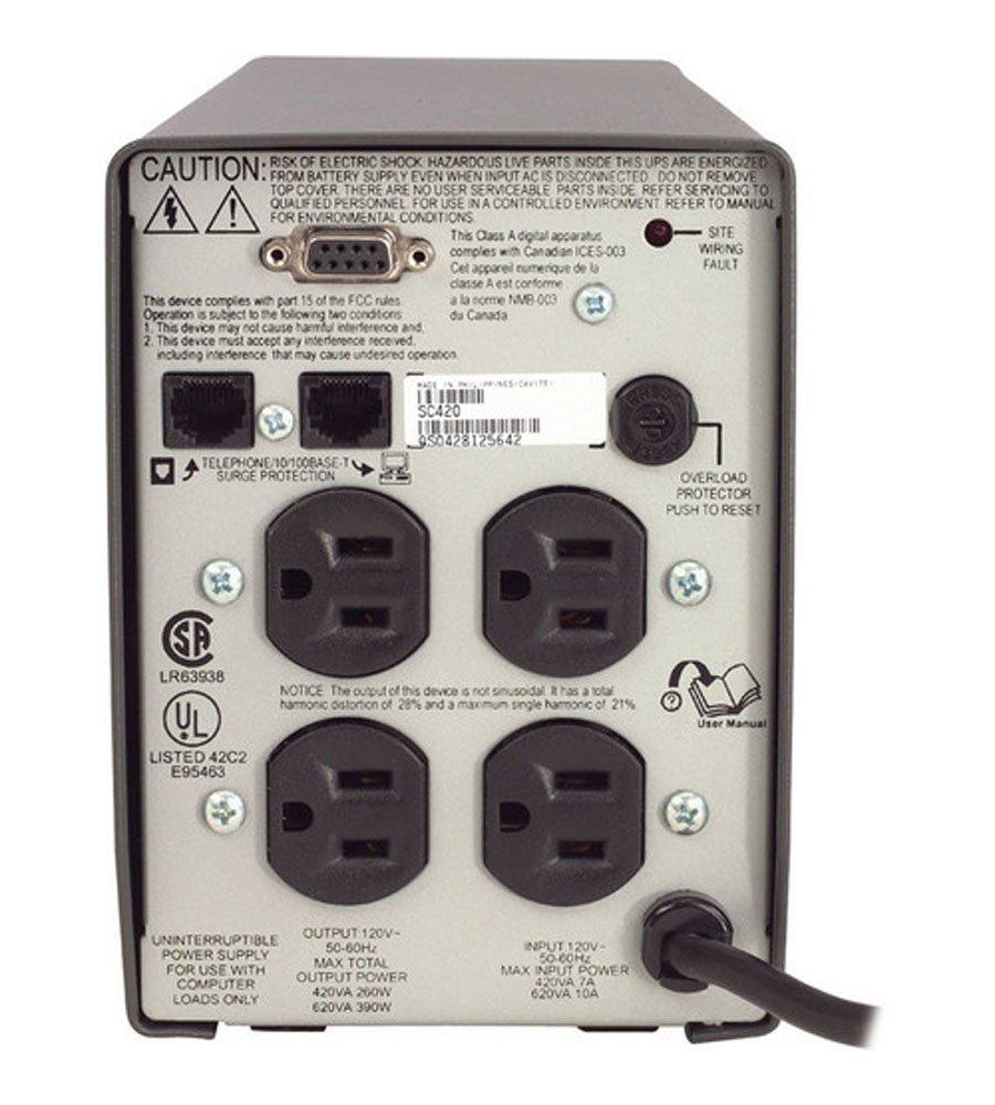 APC Smart-UPS SC SC420 420VA 120V UPS System