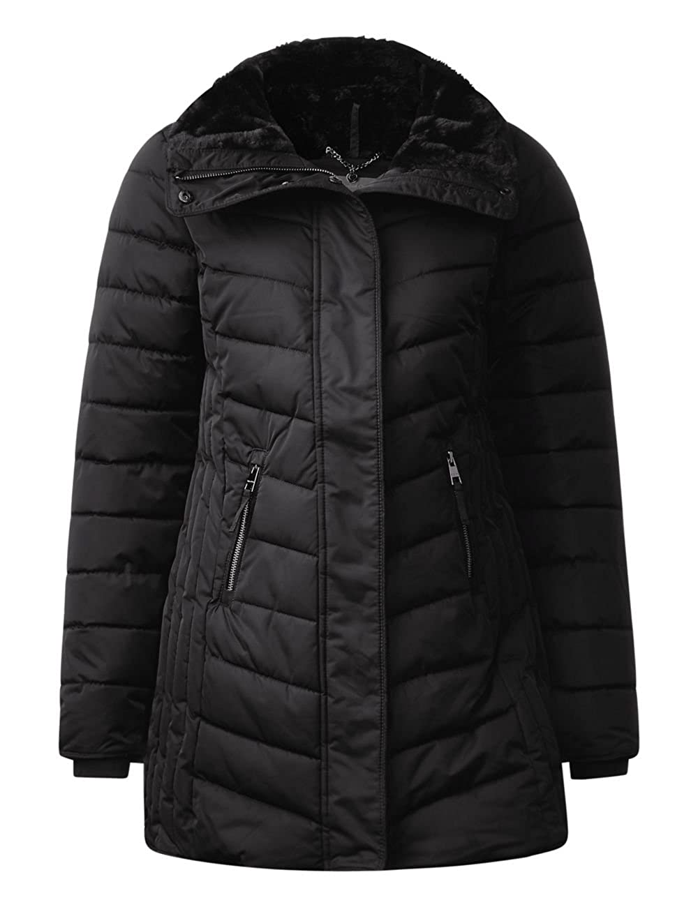 Giubbotto Donna Padded Amazon it One Ojp Coat Street Shaped qxwXUHanR