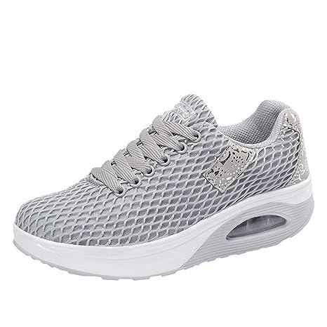 Mujer zapatos deportes de malla correa,Sonnena ❤ Zapatillas deportivas ocasionales de malla al