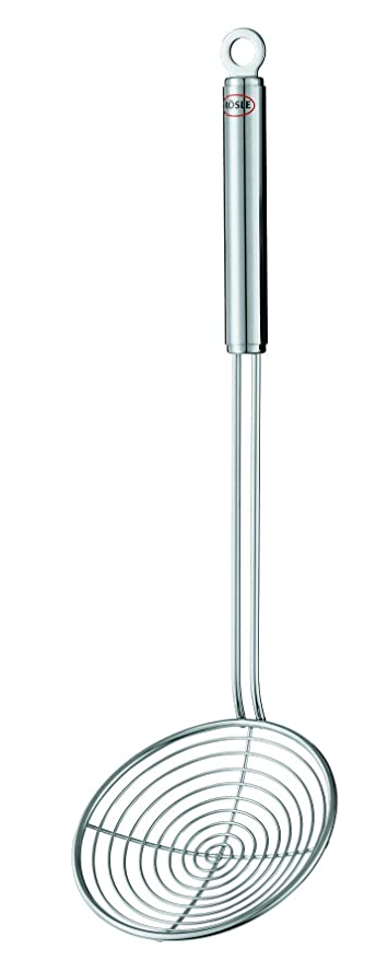 amazon com rosle round handle kitchen skimmer 4 7 inch kitchen rh amazon com