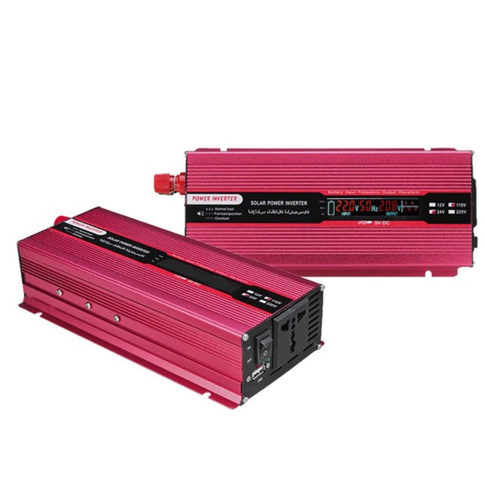 Hanbaili Transformateur /à Onde sinuso/ïdale modifi/ée avec convertisseur Haute Performance et convertisseur Automatique /à onduleur Solaire
