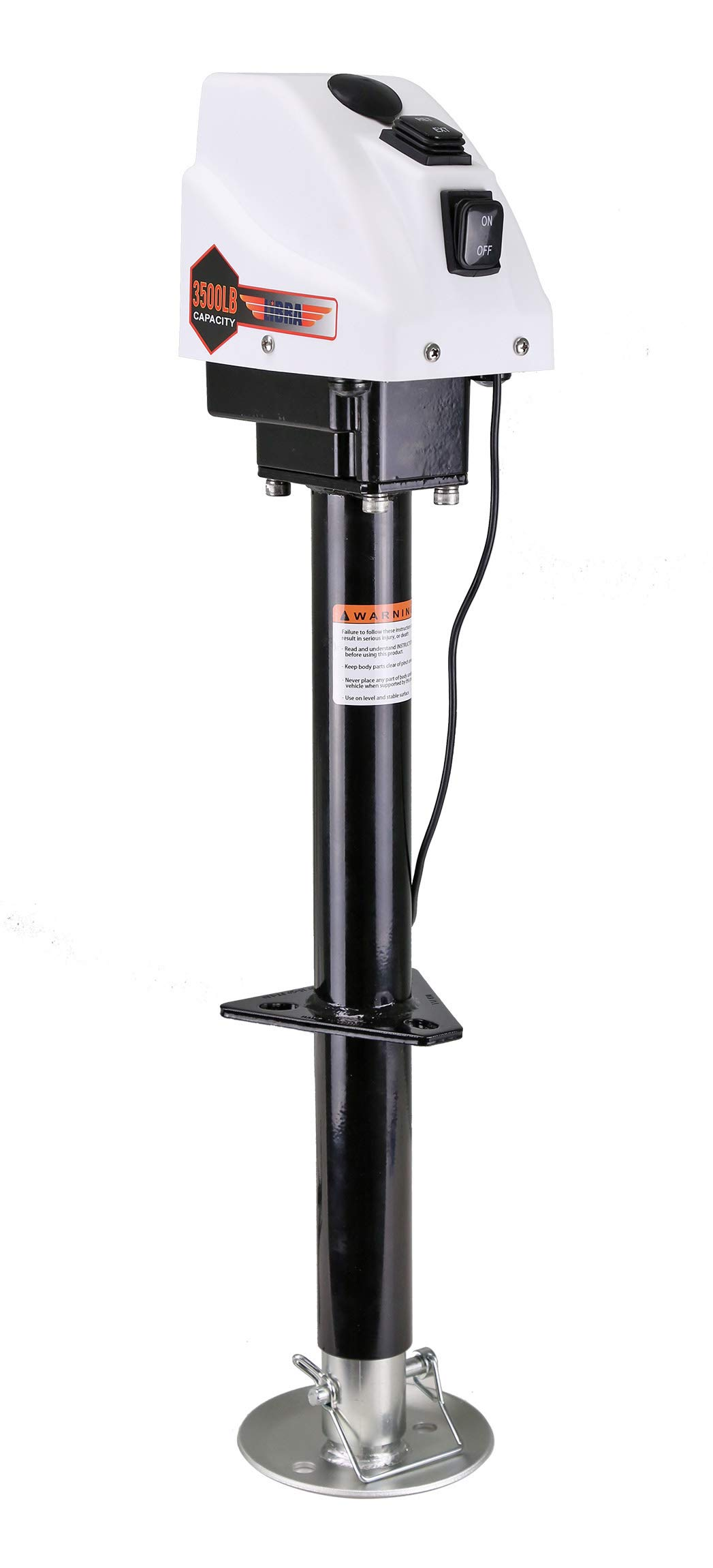 3500lbs Trailer/RV Electric Power A-Frame Tongue Jack by Libra