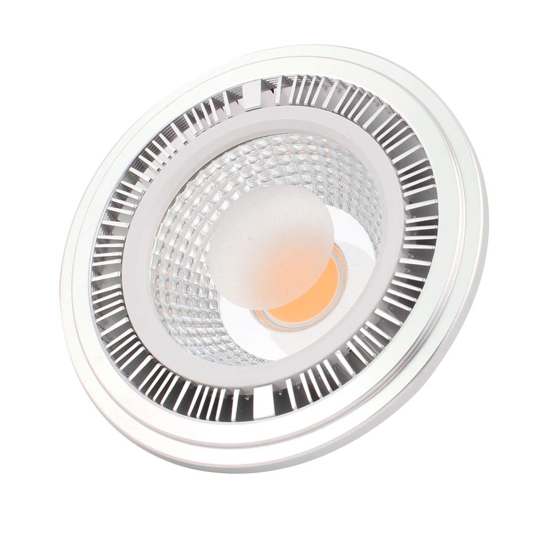 sourcing map DC12V 5W COB AR111 GU10 Base 3000K 2P Connettore lampada LED lampadina faretto