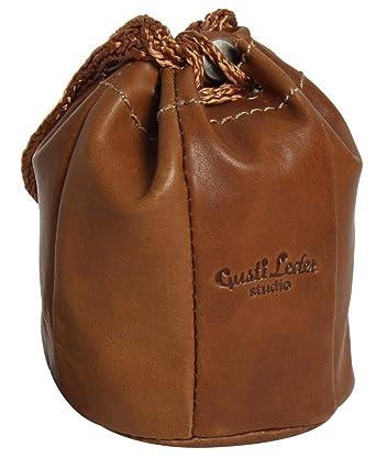 Amazon.com: Bolsa para tabaco de piel auténtica Gusti Leder ...