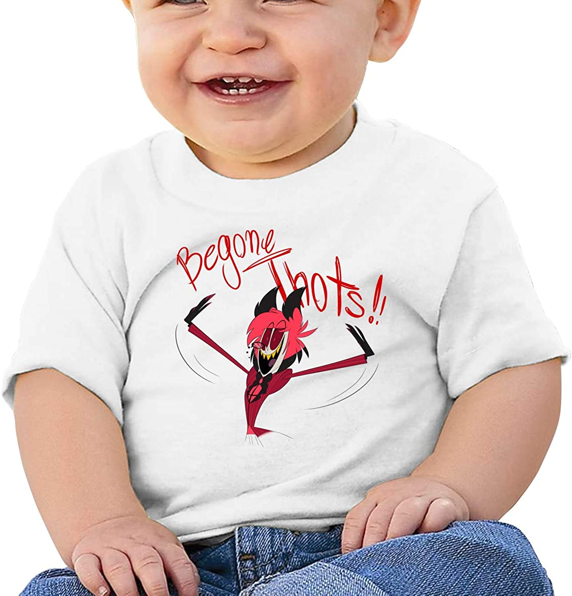 Kangtians Baby Hazbin Hotel Shirt Toddler Cotton Tee