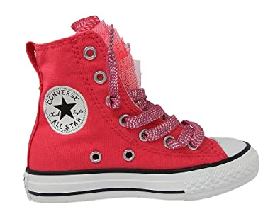 Converse All Star Hi Girls Lace Up Canvas Boots