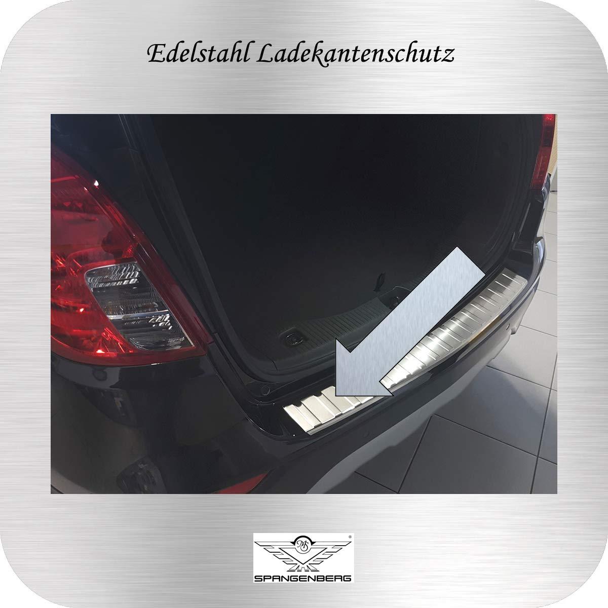 Spangenberg Protection de seuil de Chargement en Acier Inoxydable pour Opel Mokka X SUV Break /à partir de Facelift Ann/ée de Construction 09.2016 3235324