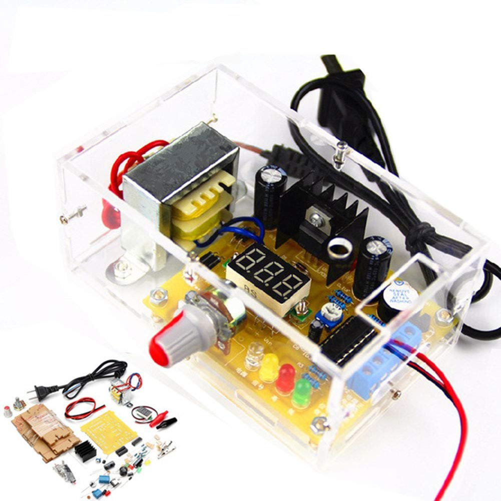 110v Regulated Power Supply Lm317 125v 12v Continuously Adjustable Dc Motor Speed Controller Circuit Diagram With Voltage Diy Kit Module Pcb Board Electronic Kits