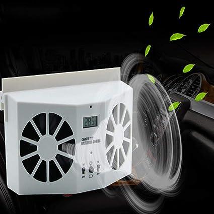 MOGOI Ventilador de coche con energía solar, ventilador de escape ...