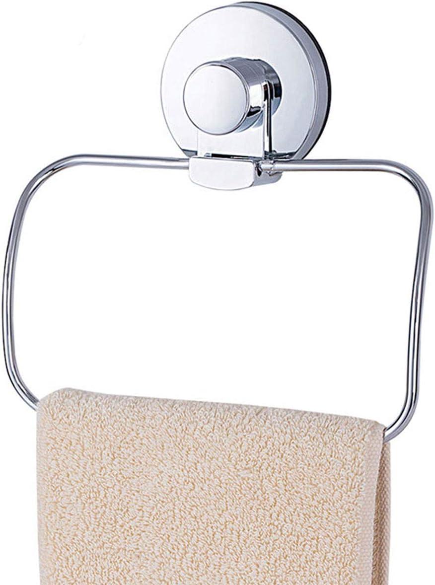 Verchromter Edelstahl Bohrerfrei /& Abnehmbar TAILI Vakuum Saugnapf Handtuchring Halter Belastbarkeit 5 KG Aufh/änger Rostfrei Wiederverwendbar f/ür Dusche Badezimmer K/üchenzubeh/ör