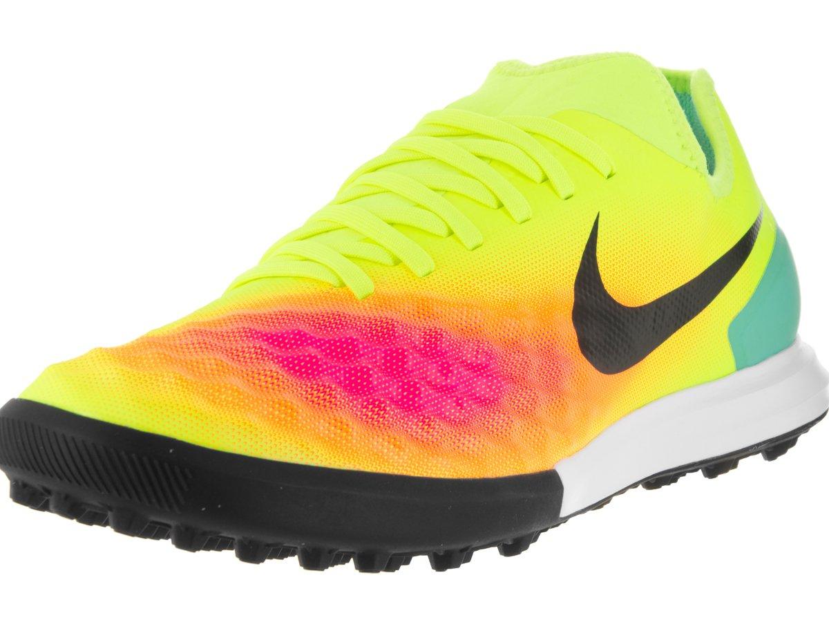 Giầy thể thao chính hãng Nike Men's Magistax Finale II Tf Turf Soccer Shoe, Màu  Volt/Black/Total Orange/Pnk Blst, Size 9 US/42.5 EU