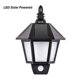 bright lmpara solar retro lmpara de jardn retro impermeable pir sensor de