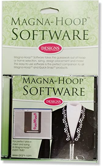 Magna-Hoop Software for design placement by Magna-Hoop: Amazon.de ...