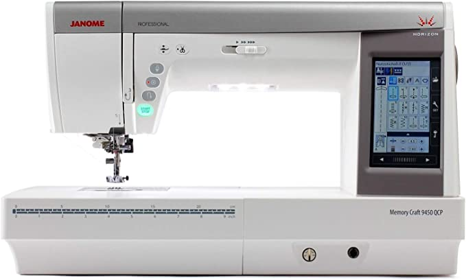 Janome Craft 9450 QCP Professional - Máquina de coser: Amazon.es ...