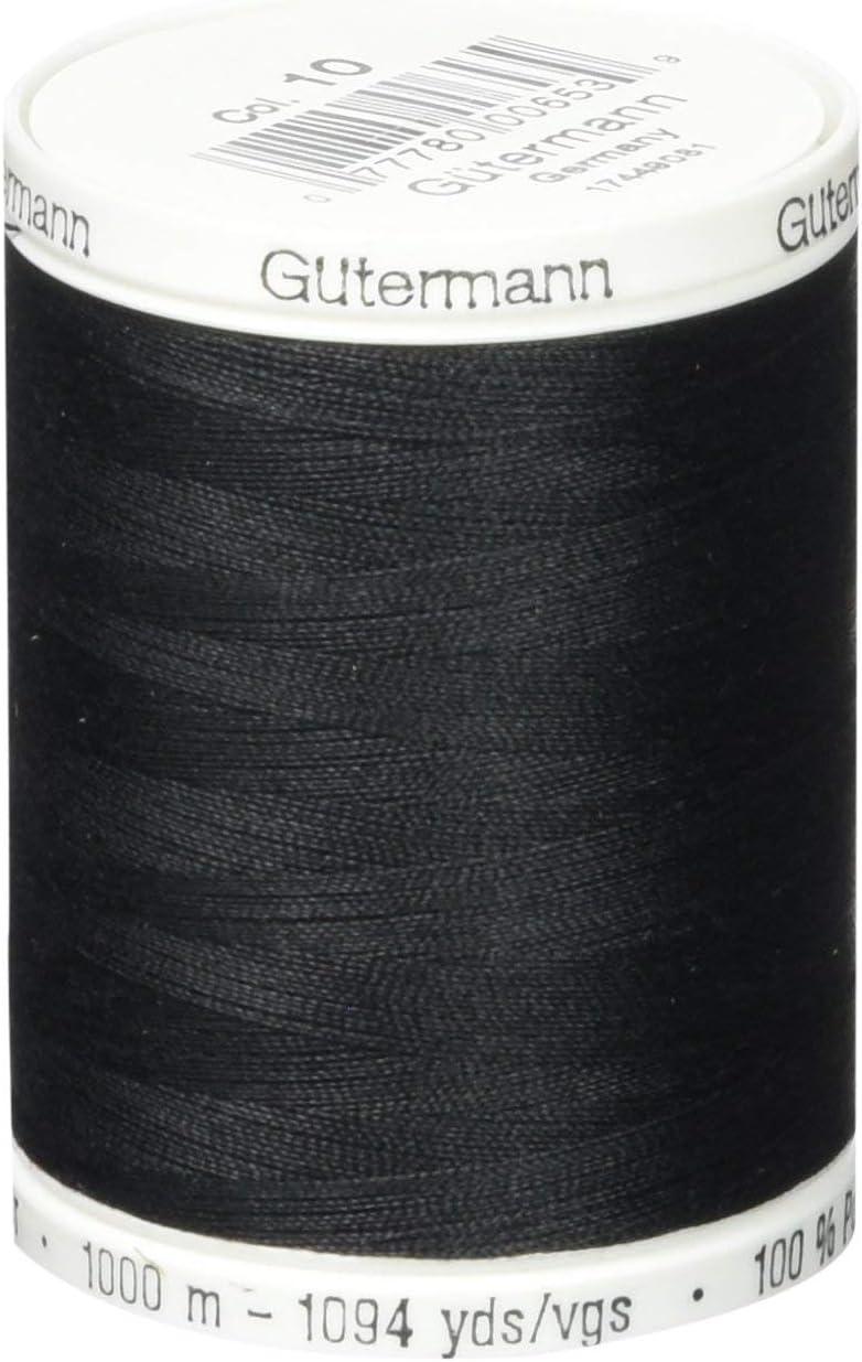 B0001DUTAW Gutermann Sew-All Thread 1094 Yards-Black (24357) 61X8du9ZC0L