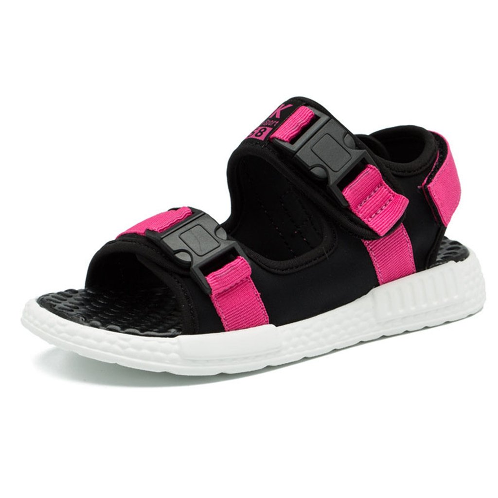 Boys Girls Sport Water Sandals Summer Athletic Open-Toe Adjustable Strap Kids Shoes