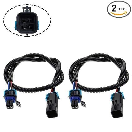 Marvelous Amazon Com Motoall 2Pcs O2 Oxygen Sensor Header Extension Wire Wiring 101 Archstreekradiomeanderfmnl