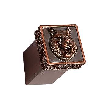 Rong gou Gancho Decorativo De Madera Vintage Animal Abrigo ...