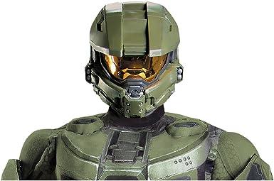 Disguise Men S Master Chief Adult Full Helmet Costume Accessory