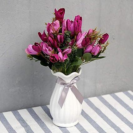 d1dbde8685c Buy Artificial Tulip Flower, SELLBINDING European Magnolia Flower ...