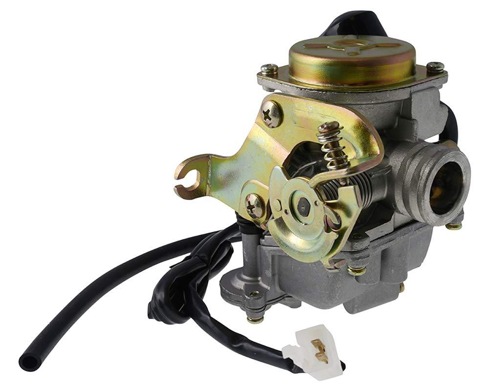 IV ZN50QT-11 Vergaser STANDARD inkl CHOKE f/ür ZNEN Revival 50cc ZN50QT-E Sun 3 ZN50QT-A Vpa