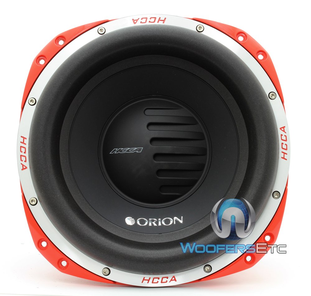 """Amazon.com: ORION HCCA124 Subwoofer 12"""" Dvc 4+4 Ω 5000W: Cell Phones &  Accessories"""