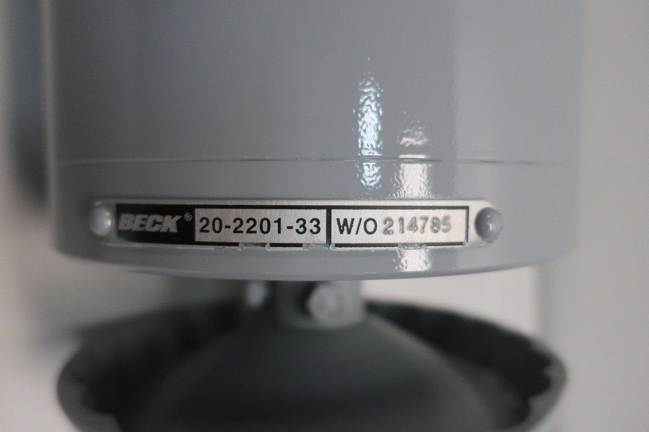 Beck 20-2201-33 Actuator Motor